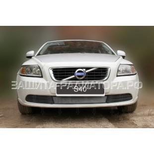 защита радиатора Вольво С40 (Volvo S40) II рестайлинг 2007-2012г.в.