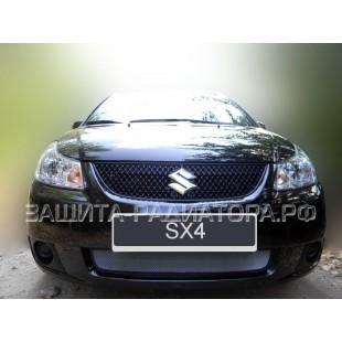 защита радиатора Сузуки СХ4 (Suzuki SX4) седан 2007-2011 г.в.