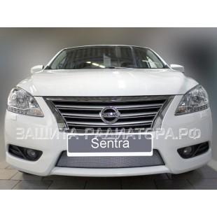 защита радиатора Ниссан Сентра (Nissan Sentra) VII 2012-2020 г.в.
