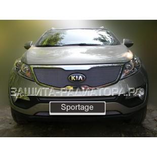 защита радиатора Киа Спортейдж 3 (Kia Sportage III) 2010-2013 г.в.