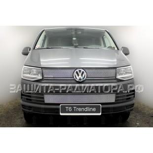 защита радиатора Фольксваген Транспортер (Volkswagen Transporter) T6 Trendline 2015-2020 г.в.