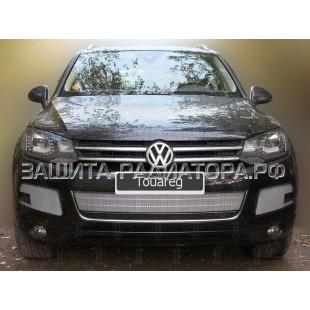 защита радиатора Фольксваген Туарег (Volkswagen Touareg) II 2010-2014 г.в.
