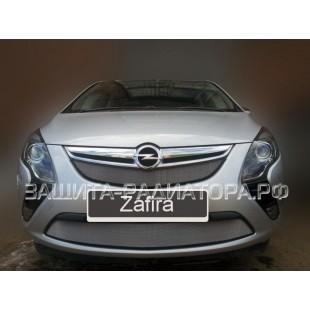 защита радиатора Опель Зафира Турер (Opel Zafira Tourer) 2012-2018 г.в.